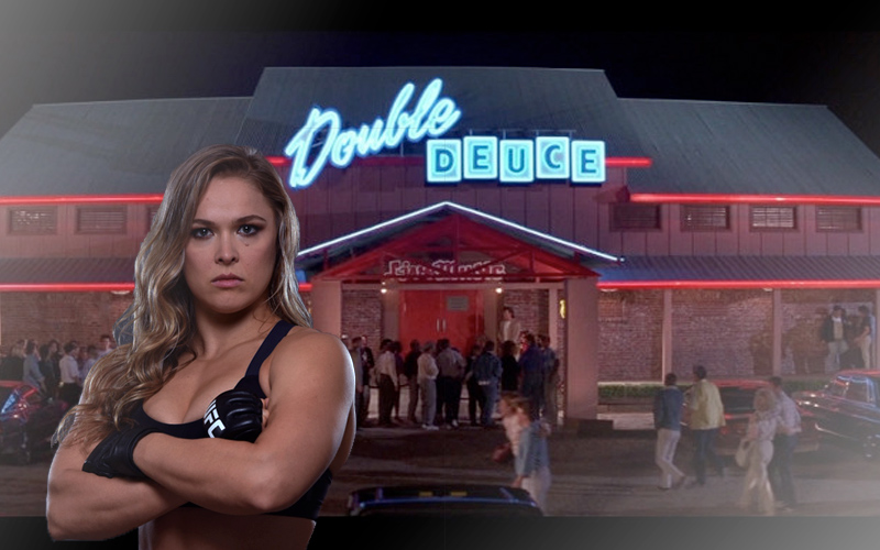 Ronda Rousey Set To Clean Up The Double Douche In Road House